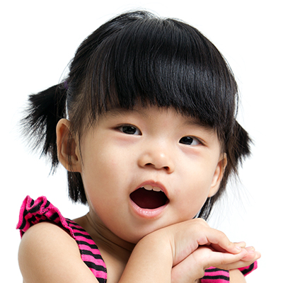 Asian young girl at a Preschool & Daycare Serving Greenville, AL