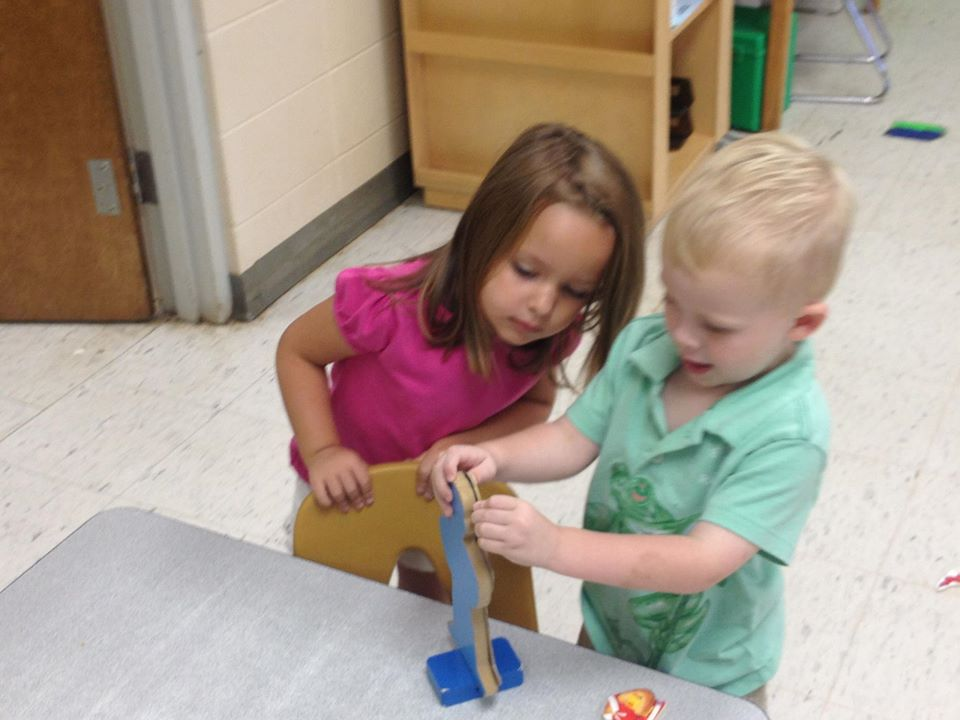girls playing together at a Preschool & Daycare Serving Greenville, AL