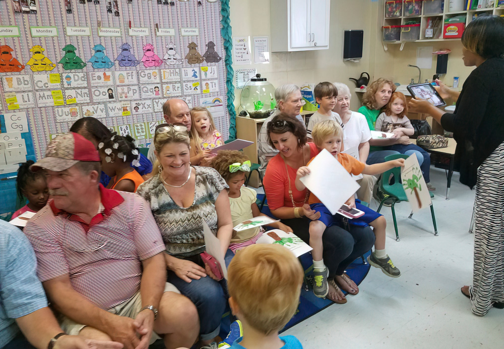 We Encourage Parents To Participate In The Classroom